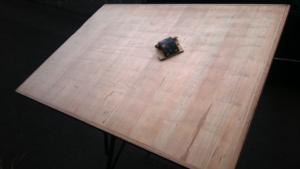 Traitement du bois de la table UNIC